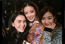 ว๊ายๆ 'ใหม่ ดาวิ' ป๊ะหน้า'ทิฟฟานี่'ที่แฟชั่นวีค!บอกเลย สาวไทยไม่แพ้!