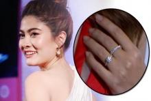 เผยครั้งแรก..แสงวิบวับแยงตาจากแหวนเพชรบนนิ้วนาง มาร์กี้!!