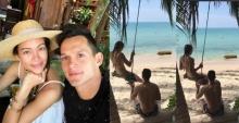 อิจแรง!!  เทย่า สวีท มิก้า นั่งชิงช้าริมหาด(คลิป)