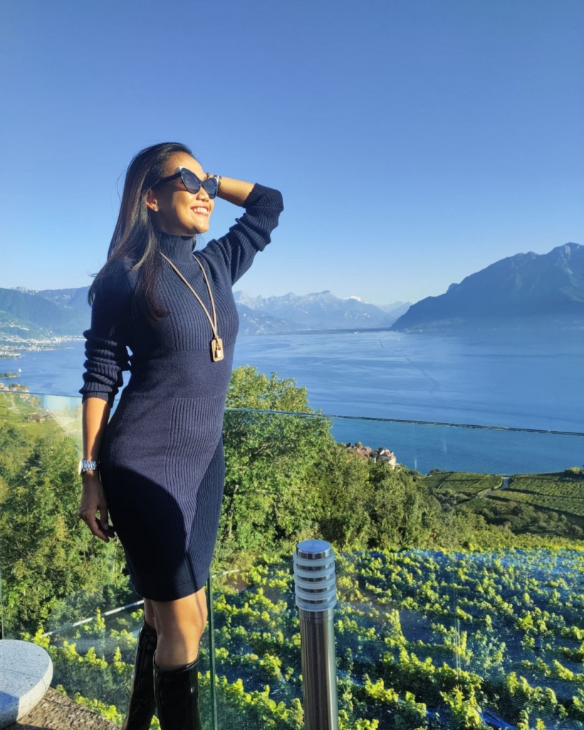 ดาราสาว บินเงียบ ปัจจุบันชีวิตดี๊ดีที่สวิตเซอร์แลนด์