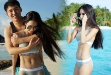 แซ่บลืม!อาจารย์เบเบ้ โชว์ฟิต!นุ่งชุดว่ายน้ำฮันนีมูนสามีเซ็กซี่สุดๆ!!! (ชมภาพ)