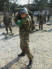 ภาพการฝึกทหารของ เซเว่น ได้รับความสนใจ