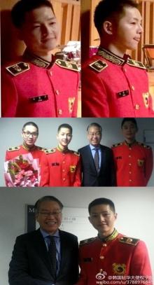 ภาพสั่งตรงจากกรมทหารของ พลทหาร ซงจุงกิ