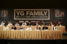เซลฟี่สุดแซ่บของศิลปิน YG จากงานแถลงข่าวที่สิงคโปร์
