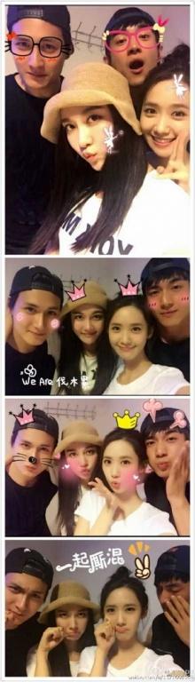 """""""ยุนอา"""" SNSD และเพื่อนๆชาวคณะ Wu Shen เผยภาพสุดอบอุ่น"""