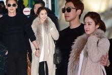 สนามบินอินชอนแตก!! เรน - คิมแทฮี เดินจูงมือต่อหน้าสื่อ ระหว่างเดินทางไปฮันนีมูนที่บาหลี