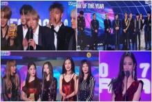 รายชื่อผู้ได้รับรางวัลงาน 2017 Mnet Asian Music Awards (คลิป)