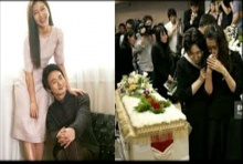 อย่างเศร้า!!ฮาจีวอนร่ำไห้หน้าโรงศพน้องชายผู้ล่วงลับ