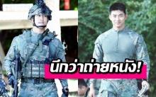 สมชายชาตรี! แทคยอน 2PM ถูกชาวเน็ตพูดถึงเรื่องรูปร่างที่บึกบึนขึ้นหลังเข้ากรม