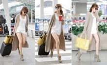 """เป๊ะเว่อร์! แฟชั่นสนามบิน กับ """"ยุนอึนฮเย"""" (Yoon Eun Hye)"""