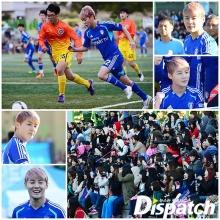 แฟนๆแห่ชมคิม จุนซูเตะบอลจนล้น!