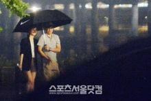 พัค จีซอง สยบข่าวเตรียมแต่ง คิม ซารัง ด้วย ภาพ ปาปารัซซี่ กับผู้ประกาศข่าวสาว