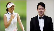 ลือยูชอน JYJ กำลังออกเดทหวานกับโปรกอล์ฟอันชินเอ?