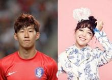 เลิกแล้วจ้า!  มินอา Girls Day  กับ นักบอลซุปตาร์ ซอน เฮืองมิน!