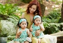แก้มยุ้ยน่าร๊ากกลูกสาวฝาแฝดของ ชู S.E.S