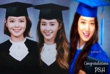 'ยูริ-ซูยอง','พัค ชินเฮ' เรียนจบรับปริญญาแล้ว