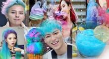 10 สีผมสายรุ้งของเหล่าไอดอลเกาหลี….ทำใหพวกเขาดูเหมือนไอศรีมไปเบย!!!