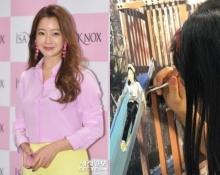 ไม่ธรรมดา ชาวเน็ตยกนิ้วฝืมือศิลปะลูกสาว คิมฮีซุน ระดับจิตรกรน้อย