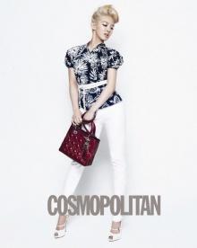 Girls' Generation, Lady Dior แฟชั่นจาก Cosmopolitan