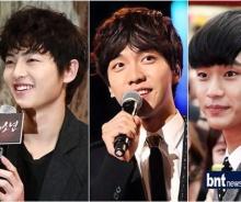 3 พระเอกดัง ซง จุงกิ,ลี ซึงกิ,คิม ซูฮยอน ใครหล่อที่สุด