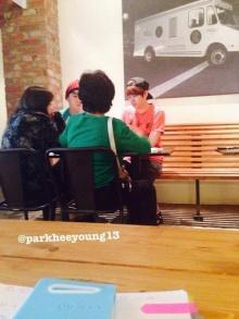 แฟนๆฮือฮาฮีชอล - แทยอนไปกินข้าวด้วยกันที่ร้านทงเฮ