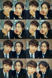มินฮยอก-พัค ชินเฮ กับภาพคู่สุดน่ารัก