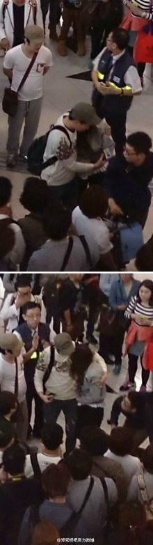 แฟนคลับตะลึง!เจสสิก้า snsdเป็นลม ล้มกลางสนามบินฮ่องกง!