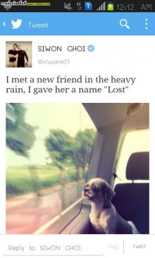 พ่อพระสุดๆ !ซีวอน SJ เก็บตก ช่วยสุนัขจากข้างถนน ตั้งชื่อเจ้าหลง