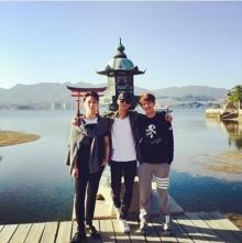 คีย์ มินโฮ อนยู (SHINee) เที่ยวเกาะ มิยาจิม่า ประเทศญี่ปุ่น