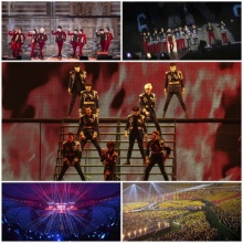 Super Junior กวาดผู้ชมไปกว่าแสนคนในคอน Super Show 6
