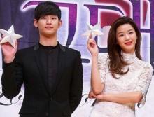 จอนจีฮยอน-คิมซูฮยอน ควงคู่เข้าร่วมงาน SBS Drama Awards