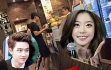 หลุดจะจะอ้าง ดีโอ EXO และ โซจิน Girs Day