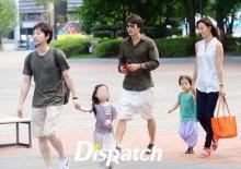 ภาพควอน ซังวูพาลูก-เมีย เดินเที่ยว !
