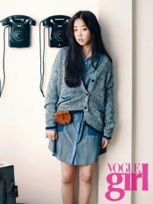 Sohee แห่ง Wonder Girls เผยภาพแฟชั่นใหม่ในนิตยสาร 'Vogue Girl'
