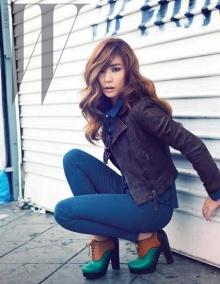 Tiffanyแห่งSNSDเผยภาพในนิตยสาร 'W'