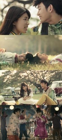 เผยคลิปเบื้องหลังของซูจีและคิมซูฮยอนถ่ายโฆษณาที่ประเทศไทย