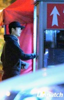 ภาพแอบถ่ายของคู่รักคู่ใหม่ คิ ซุงยอง และ ฮัน ฮเยจิน