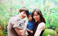 ครอบครัว สุขสันต์ ควอน ซังวู พาภรรยา และ ลูกชาย น้องร็อคกี้ ไปเที่ยวสวนสนุก