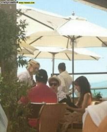 ฮือฮา! อีก ภาพแอบถ่ายอ้างเป็นนิชคุณ-ทิฟฟานี่ ที่ ชายหาดมาลิบู