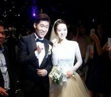 พัค จีซอง จูงมือ เจ้าสาวผู้ประกาศคนสวยแห่งSBS  วิวาห์แล้ว