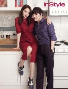 โจจองซอก-ชินมินอา ออร่าคู่รักพุ่งในนิตยสาร InStyle