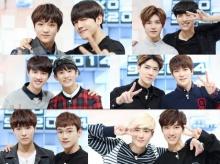 """ภาพคู่สุดฟินของ EXO กับ SM.ROOKIES ใน """"EXO 90:2014"""""""