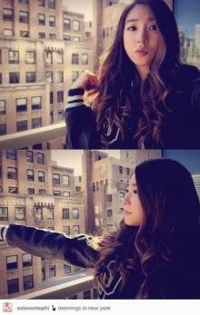 ทิฟฟานี่ snsd เพลิดเพลินในนิวยอร์ก!!