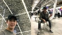 แฟนคลับกรี้ดสนั่น! นิชคุณ ขึ้นรถไฟฟ้า BTS ตระเวนเที่ยวทั่วกรุงเทพ!!