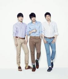 หนุ่ม ๆ JYJ ถ่ายแบบแบรนด์ NII