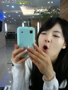 Pic : ฮยอนอา 4minute น่ารก ๆ @Twitter