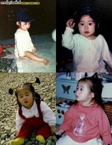 น่ารักน่าชังเชียว!ภาพสมัยเด็กของ T-ARA จียอน