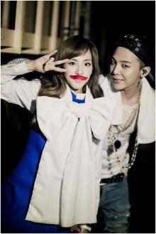 ซานดารา 2NE1 แชร์ภาพของเธอกับจีดราก้อน