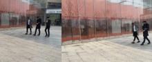 แอบถ่ายหนุ่มหน้าคล้าย เทา EXO กำลังเดินสูบบุหรี่