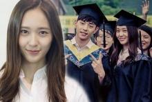 คริสตัล f(x) เข้าฉากฉลองจบการศึกษา ในละครจีนเรื่อง Graduation Season